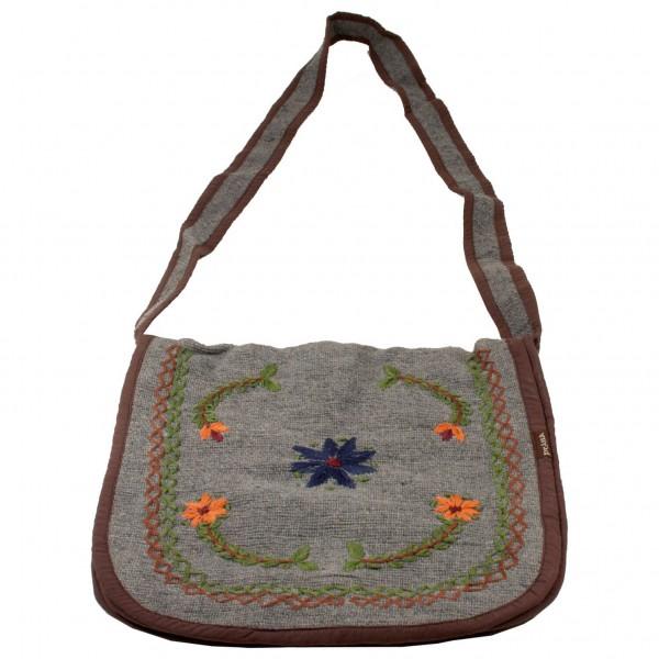 Prana - Hemp Wool Satchel - Bandolera