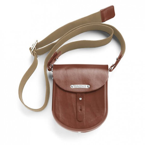 Brooks England - B1 Moulded Leather Bag - Saddle bag