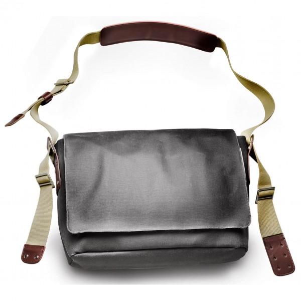 Brooks England - Barbican Shoulder Bag Canvas - Skuldertaske