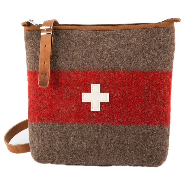 Karlen Swiss - Umhängetasche mit CH-Kreuz - Umhängetasche