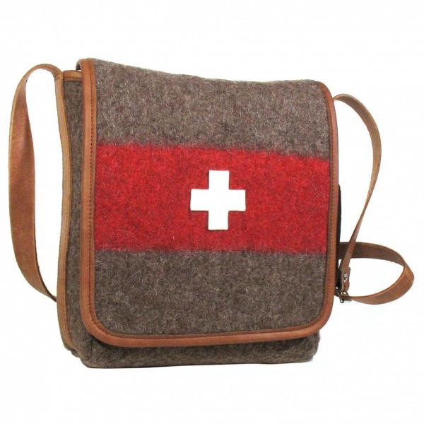 Karlen Swiss - Umhängetasche mit Innenfächer - Shoulder bag