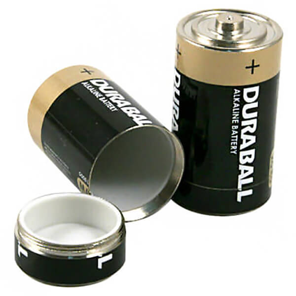 Basic Nature - Undercover Batterie 2-Pack - Beschermdoos
