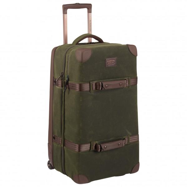 Burton - Wheelie Double Deck Waxed Canvas - Luggage
