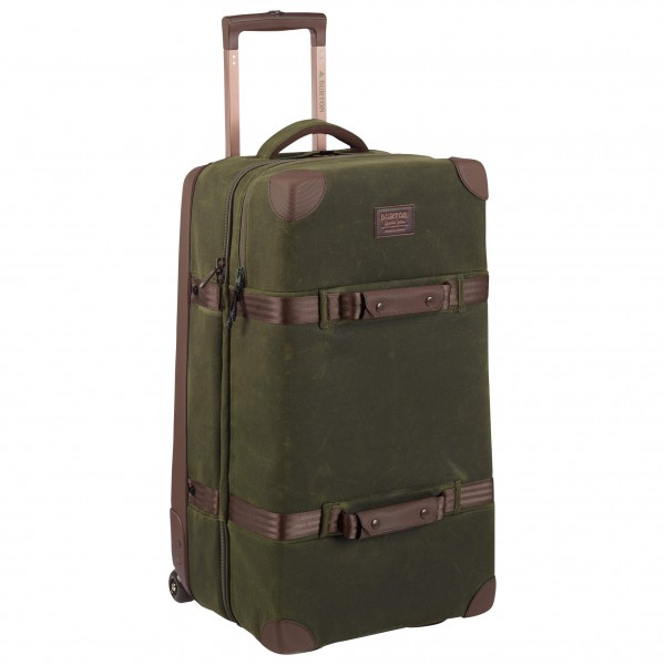 Burton - Wheelie Double Deck Waxed Canvas - Resebag