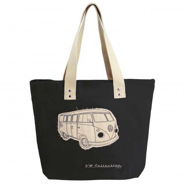 VW Collection - VW T1 Bus Shopper-Tasche Canvas - Olkalaukku