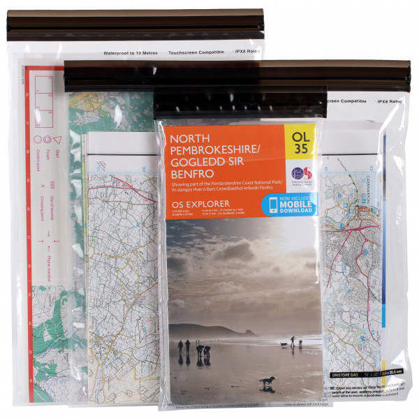LocTop Waterproof Bag for Maps - Protective cover