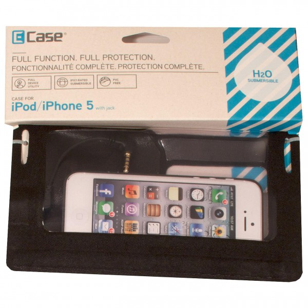 E-Case - iSeries Case iPhone 5 w/ Jack - Beschermhoes
