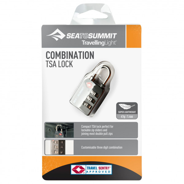 Sea to Summit - TSA Travel Lock Cardkey - Korttilukko