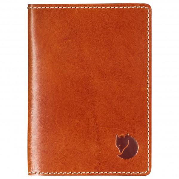 Fjällräven - Leather Passport Cover - Geldbeutel