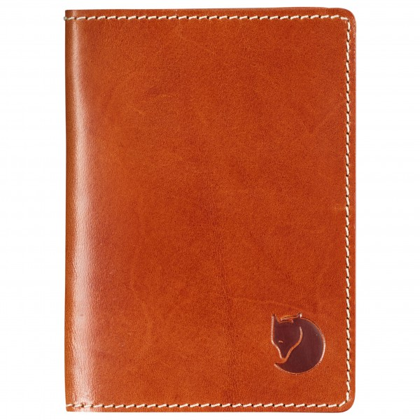 Fjällräven - Leather Passport Cover - Geldbeutel