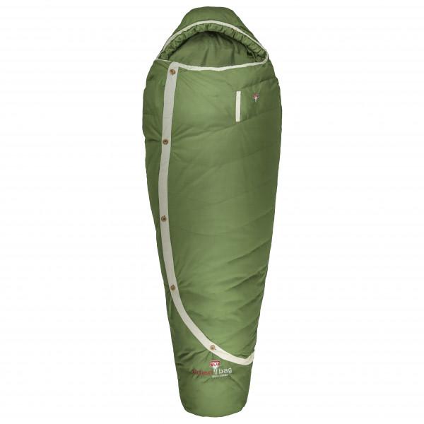 Grüezi Bag - Biopod DownWool Nature - Untuvamakuupussi