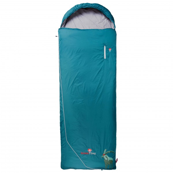 Grüezi Bag - Biopod Wolle Goas Comfort - Kunstfaserschlafsack