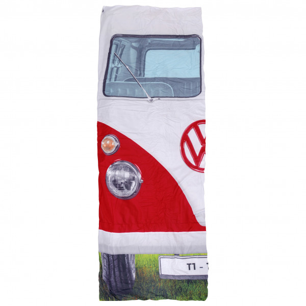 VW Collection - VW T1 Bus Einzelschlafsack - Synthetische slaapzak