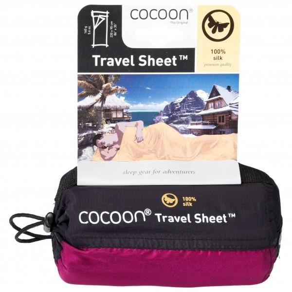COCOON - TravelSheet Silk - Reiseschlafsack Hüttenschlafsack
