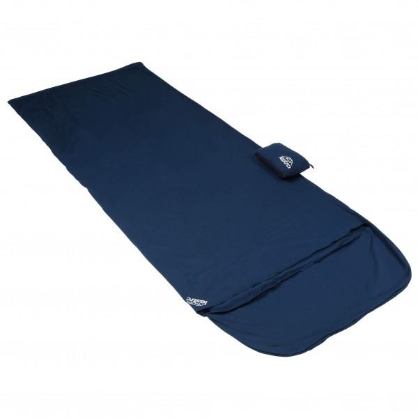 Lestra - Baumwolle-Innenschlafsack Mumienform mit Dreieck