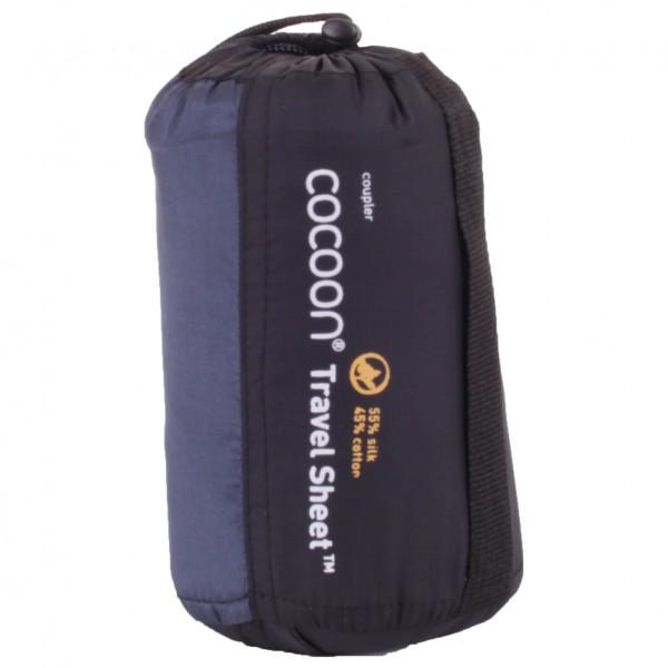 Cocoon - Silk Cotton Travelsheet Coupler - Rejsesovepose