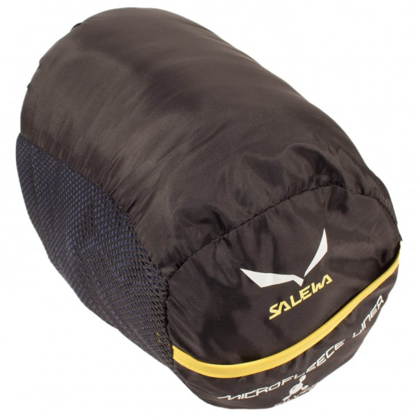 Salewa - Microfleece Liner Silverized With Zip - Sisäpussi