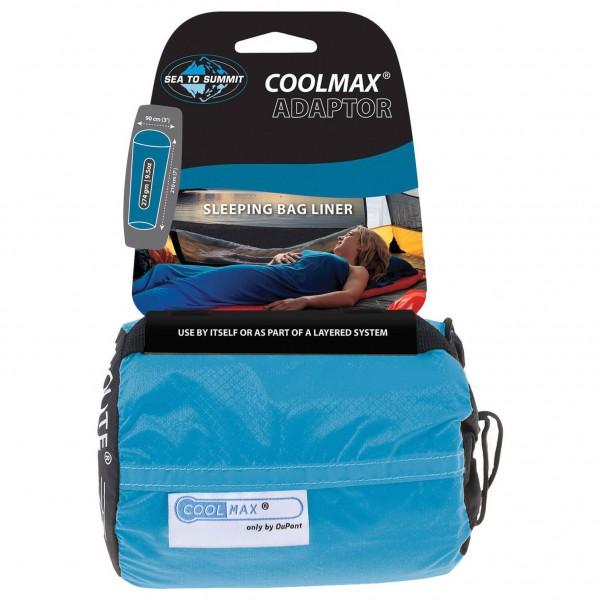Sea to Summit - Adaptor Coolmax Mummy Liner - Travel sleeping bag