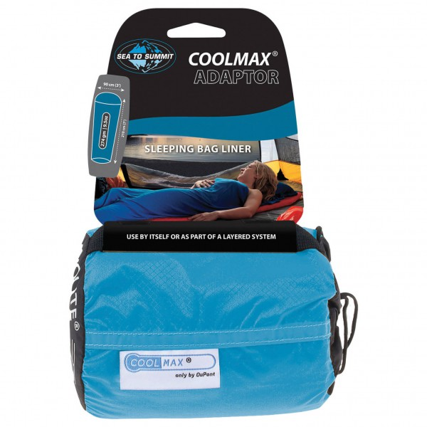 Sea to Summit - Adaptor Coolmax Mummy Liner - Pohjallinen