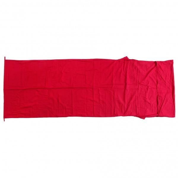 Basic Nature - Baumwollinlett Deckenform Inlay - Saco de dormir de viaje