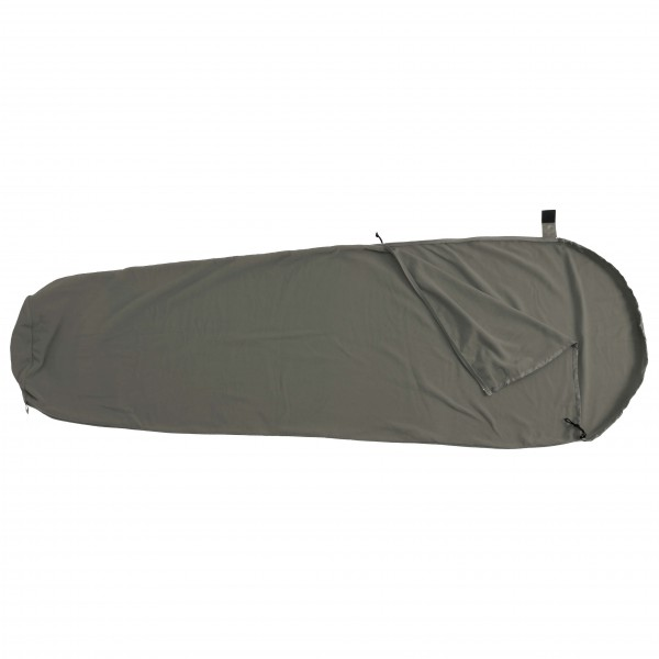 BasicNature - Drap de sac en coton Forme de momie - Sac à vi