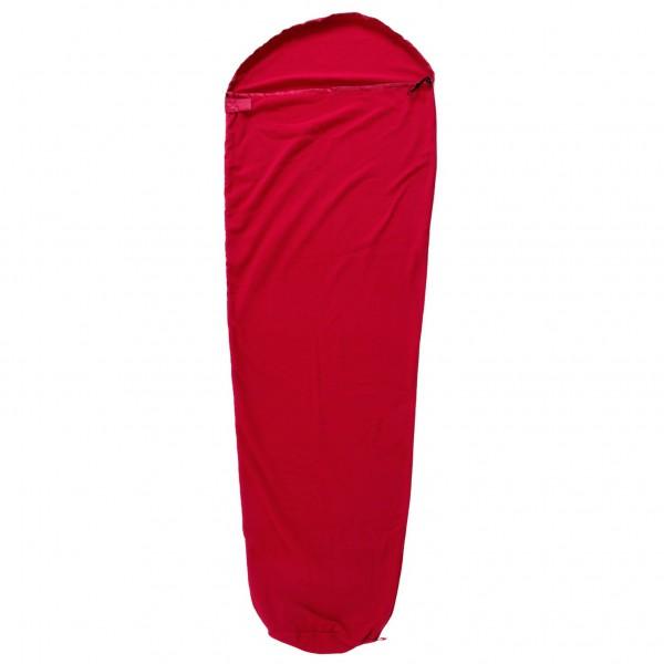 BasicNature - Fleece Schlafsack Mumienform - Inlay