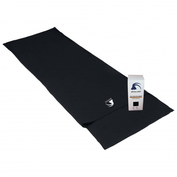 Alvivo - Inlet Fleece Decke - Hut sleeping bag