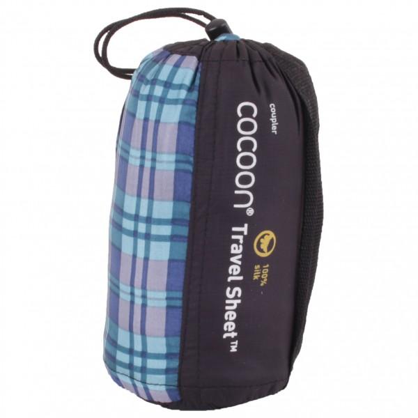Cocoon - Travelsheet Coupler Silk - Matkamakuupussi