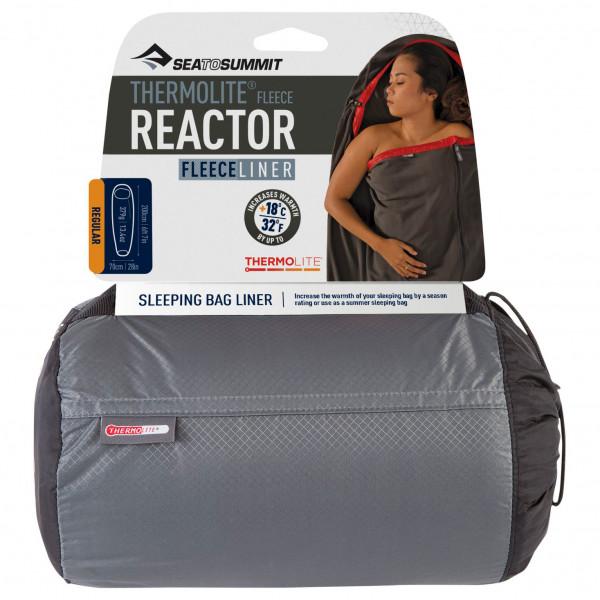 Sea to Summit - Reactor Fleece Liner - Reiseschlafsack