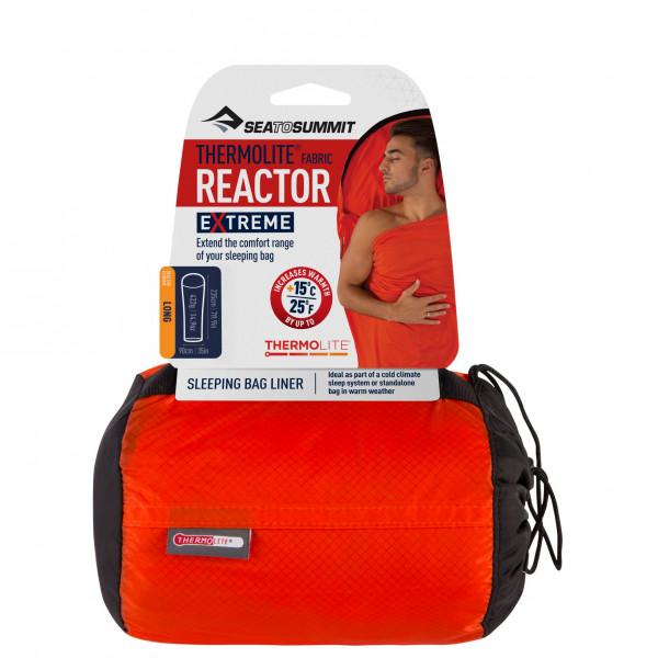 Sea to Summit - Reactor Extreme Thermolite Mummy Liner Long - Sac de couchage léger