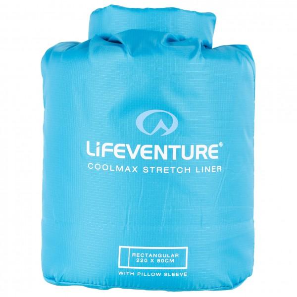 Lifeventure - Coolmax Stretch Sleeping Bag Liner - Reiseschlafsack