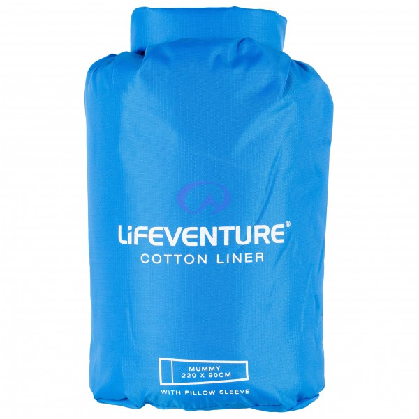 Lifeventure - Cotton Sleeping Bag Liner - Rejsesovepose