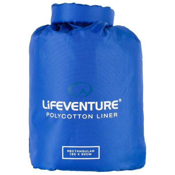 Lifeventure - Polycotton Sleeping Bag Liner - Resesovsäck