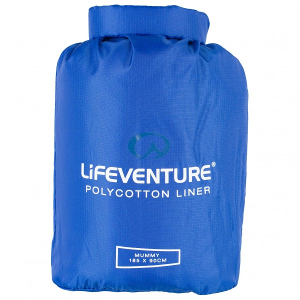 Lifeventure - Polycotton Sleeping Bag Liner - Resesovsäck