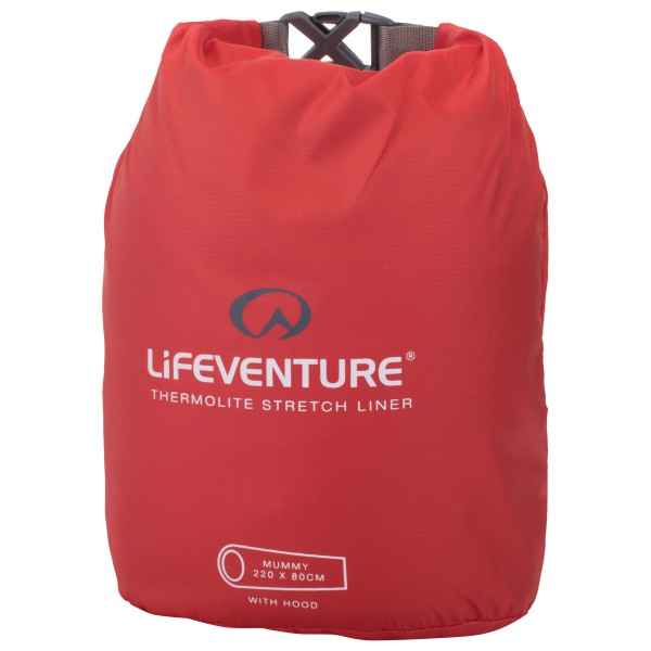 Lifeventure - Thermolite Stretch Sleeping Bag Liner - Saco de dormir de viaje