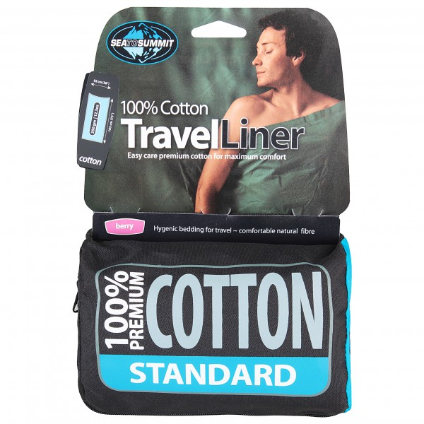 Sea to Summit - Premium Cotton Travel Liner Standard - Reisesovepose