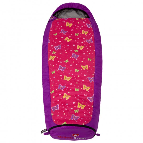 Grüezi Bag - Kids Butterfly Grow - Kinderschlafsack