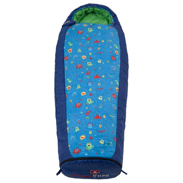 Grüezi Bag - Kids Monster Grow - Kids' sleeping bag