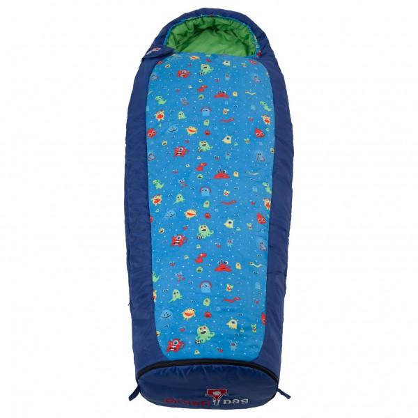 Grüezi Bag - Kids Monster Grow - Kinderschlafsack