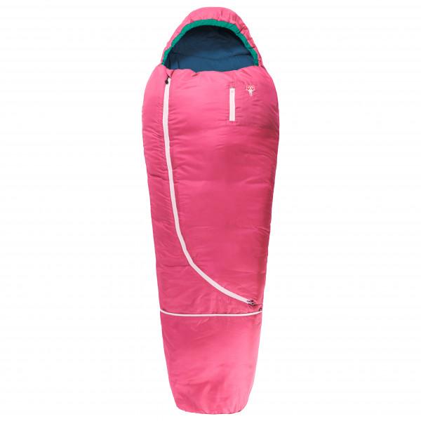 Grüezi Bag - Biopod Wolle Kids World Traveller - Kinderschlafsack