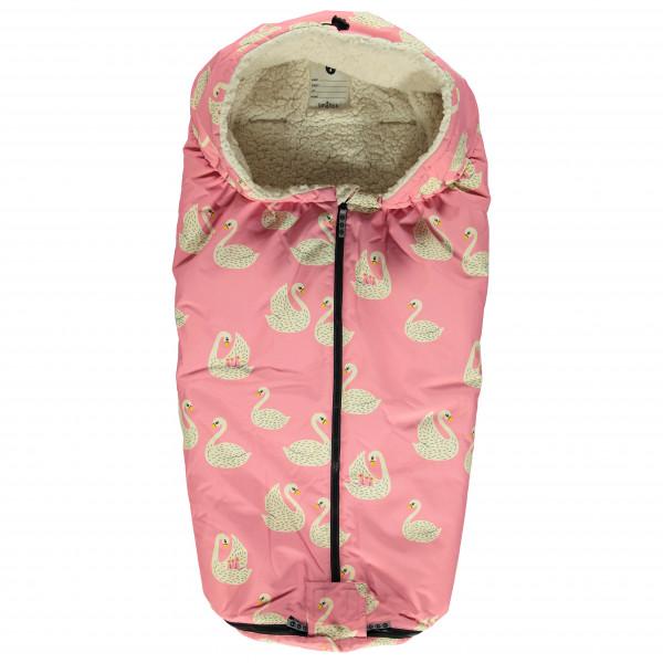 Smafolk - Kid's Sleeping Bag with Swans - Lasten makuupussi