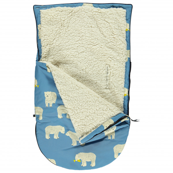 Smafolk - Kid's Small Sleeping Bag with Bear - Kinderslaapzak