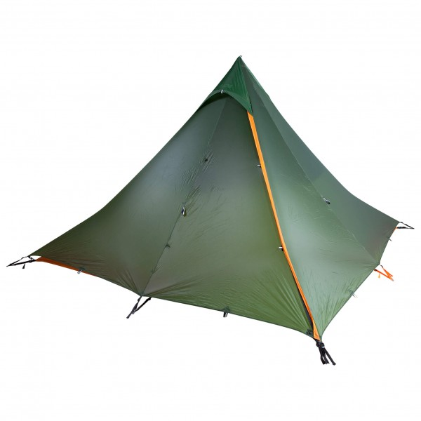 Nigor - Wickiup 4 Fly and DAC Pole - 4 hlön teltta