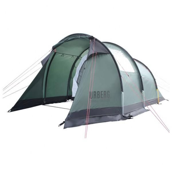 Urberg - 4-Person Tunnel Tent G3 - 4 henkilön teltta