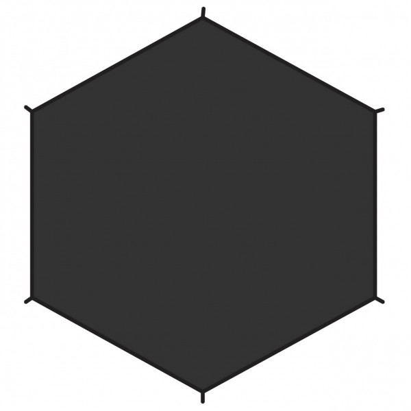 Fjällräven - Dome 2 Footprint - Tentonderzeil