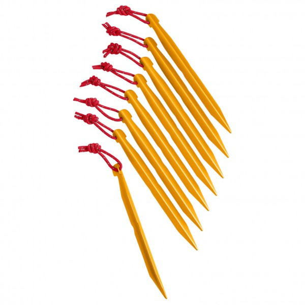 The North Face - J-Stake Set M (8 Pack) - Tent stakes