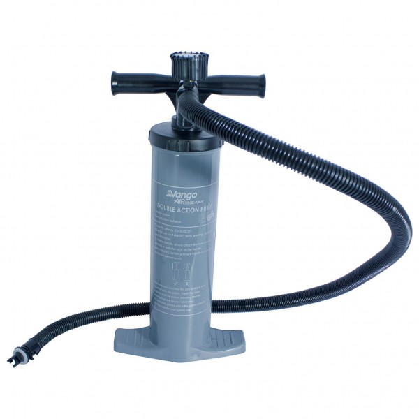 Vango - Alloy Double Action Pump with Gauge 2000