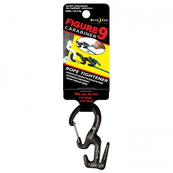 Nite Ize - Figure9 Karabiner Wire Gate MC9L - Rope tensioner