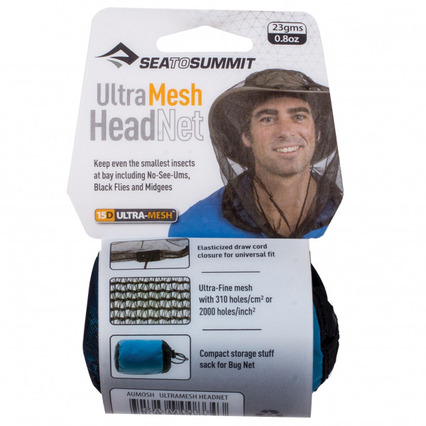 Sea to Summit - Ultra-Fine Mesh Headnet - Moskitonetz