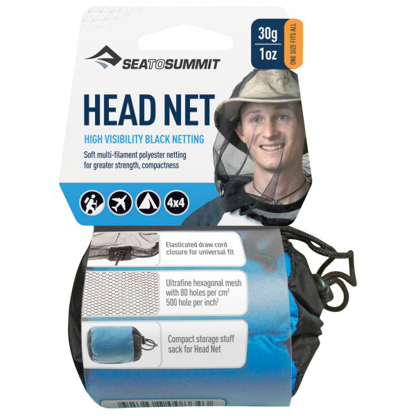 Sea to Summit - Mosquito Headnet - Hyttysverkko